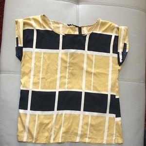 Vero Moda geometric pattern blouse